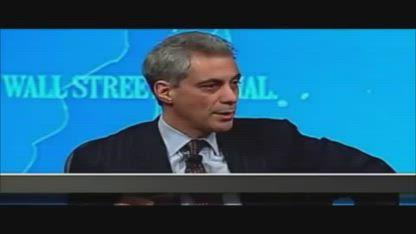 Rahm Emanuel  Never Let A Good Crisis Go To Waste
