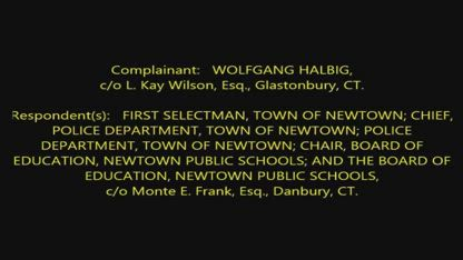 Newtown Official Testifies Electric Sign Installed by DHS