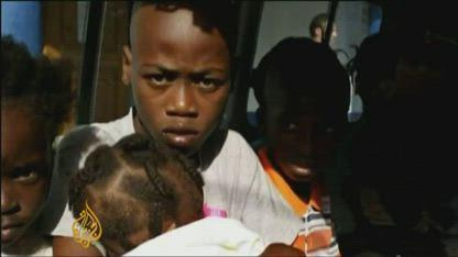 Child traffickers held in Haiti
