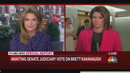"The Senate Judiciary Kavanaugh Vote After Fraud Christine Blasey ""Testified"""