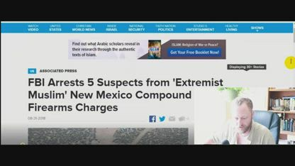 All five compound terrorist suspects Re-Arrested by FBI (Deep State CONTAINMENT)
