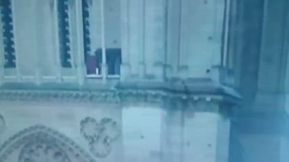 Notre Dame Mystery Man (ZOOMED & SLOWED-DOWN)