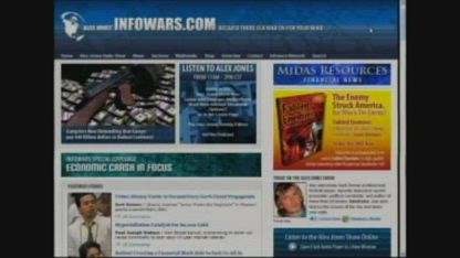 Alex Jones with David Icke on the Banker Bailout & much more 2008-10-06