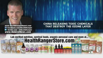 CHINA releasing toxic chemicals that destroy the OZONE layer