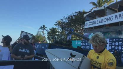 Pro surfers Kelly Slater and John John Florence exhorted to give their lives to Jesus.