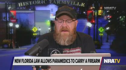 Florida Paramedics Now Legally Allowed to Carry on the Job
