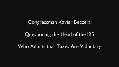 IRS income tax is voluntary system
