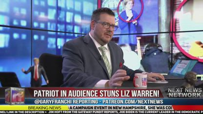Patriot in Audience STUNS Liz Warren! DOESN'T Let Her Get Away with Her OUTRIGHT LIES!