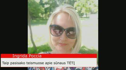 Ingrida Poccia. Smurtautoja pries vaikus.