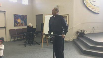 Pastor Broden Preaches on Salvation