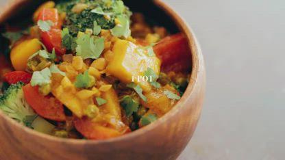 Thai Yellow Mango Curry