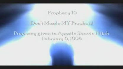 Don't Muzzle MY Prophets - Amightywind Prophecy