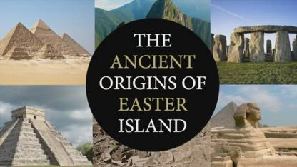 Easter Island Evidence of a Lost Ancient Civilisation  Ancient Architects
