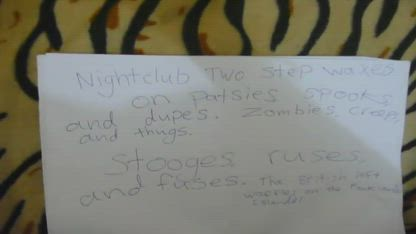 Zombies, spooks and dupes