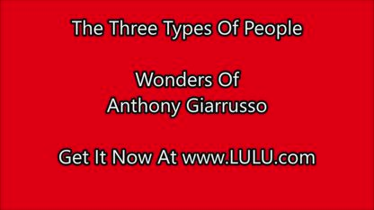 Paranormal: The Three Types Of People by Anthony Giarrusso